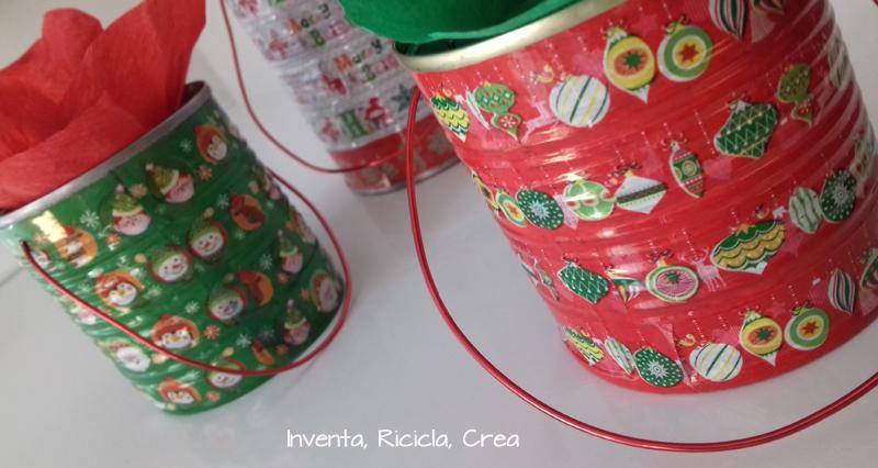 Confezioni regalo di natale di riciclo con i barattoli di for Regalo di natale originale