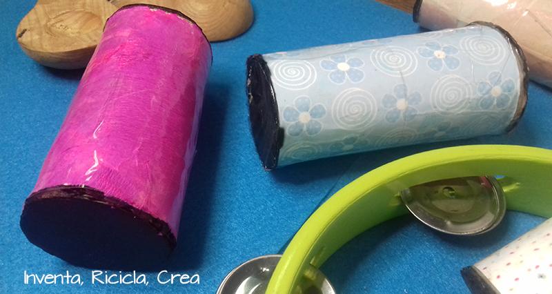 Animali Con Tubi Di Carta Igienica : Costruire maracas per bambini riciclando i rotoli di carta