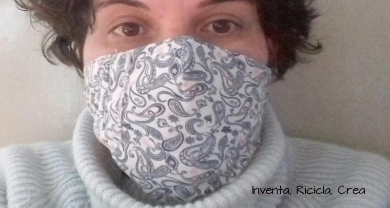 tutoarial mascherina fatta in casa