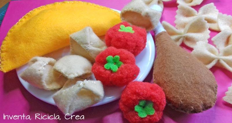 cibo per giocattolo bambini