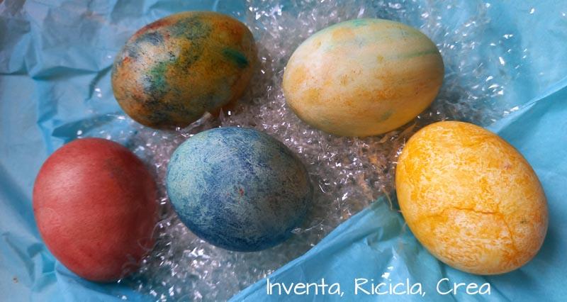colorare uova sode con i coloranti alimentari