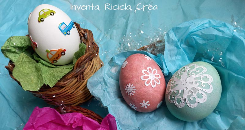 decorare uova sode